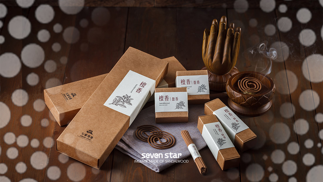 WELCOME TO INCENSE MADE OF SANDALWOOD